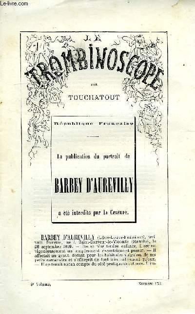 LE TROMBINOSCOPE, 3e VOLUME, N° 173