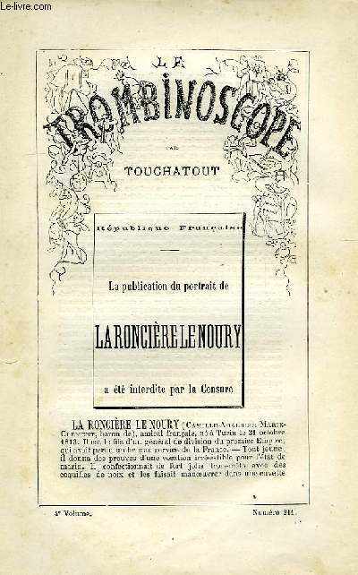 LE TROMBINOSCOPE, 4e VOLUME, N° 211