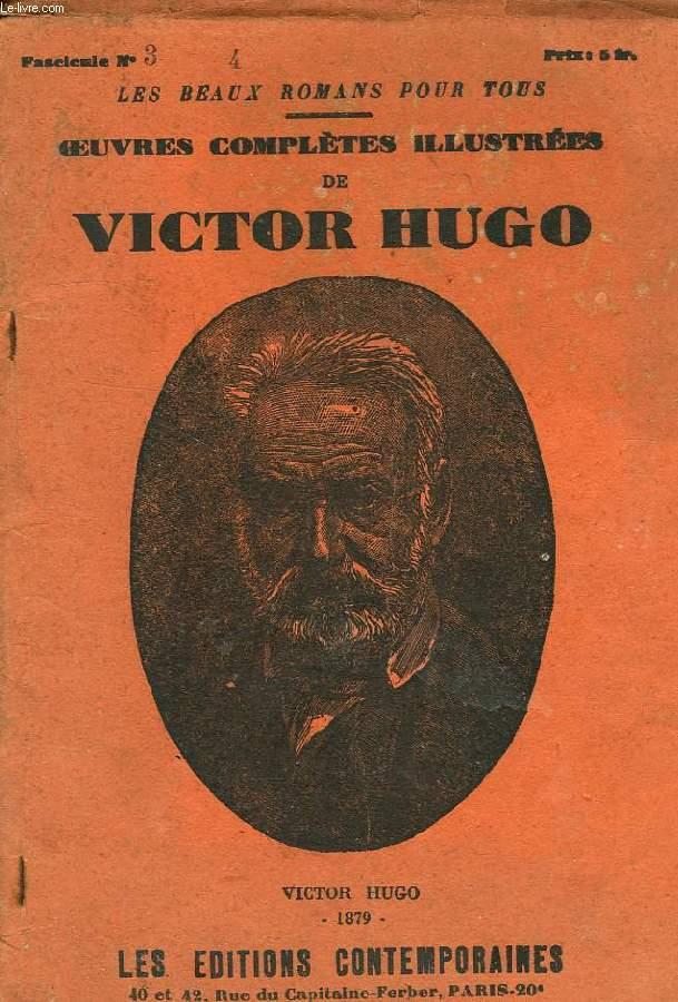 OEUVRES COMPLETS ILLUSTREES DE VICTOR HUGO, FASC. N° 3-4, FANTINE