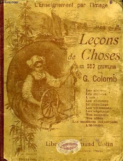 LECONS DE CHOSES EN 650 GRAVURES, COURS MOYEN