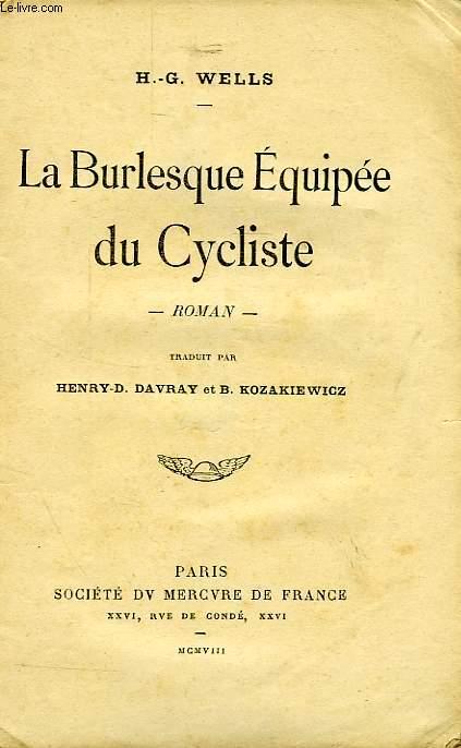 LA BURLESQUE EQUIPEE DU CYCLISTE