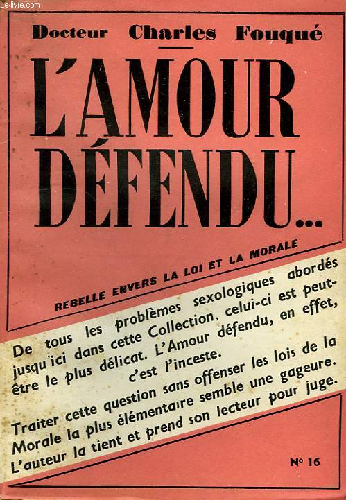 L'AMOUR DEFENDU