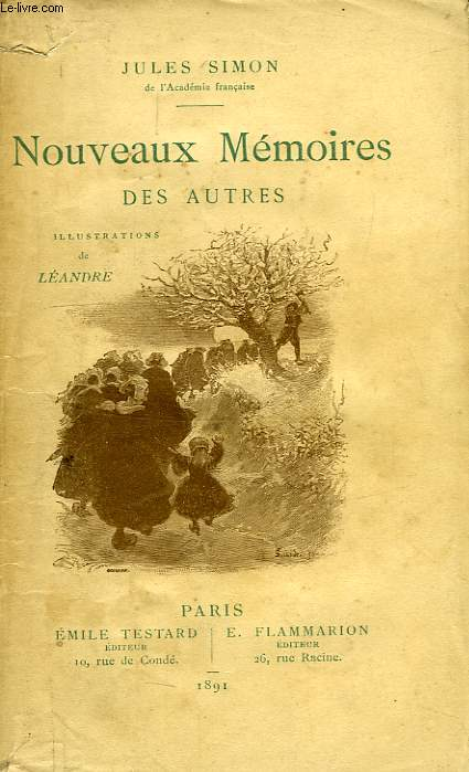 NOUVEAUX MEMOIRES DES AUTRES