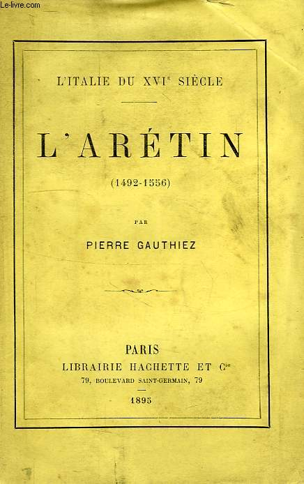 L'ARETIN (1492-1556)