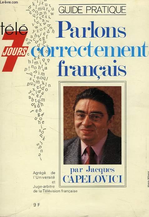 PARLONS CORRECTEMENT FRANCAIS