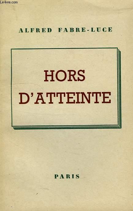 HORS D'ATTEINTE