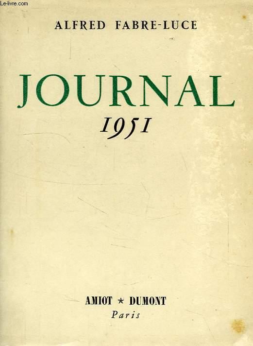 JOURNAL 1951