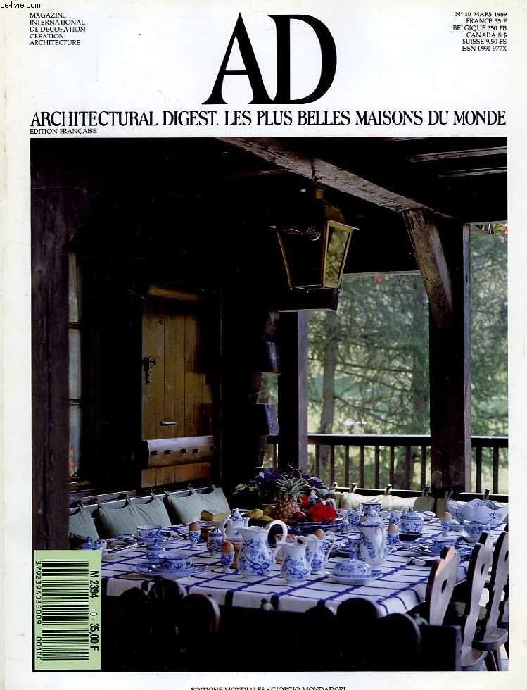 Ad architectural digest les plus belles maisons du monde - Les maisons les plus belles du monde ...