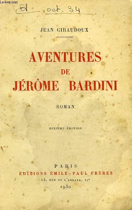 AVENTURES DE JEROME BARDINI