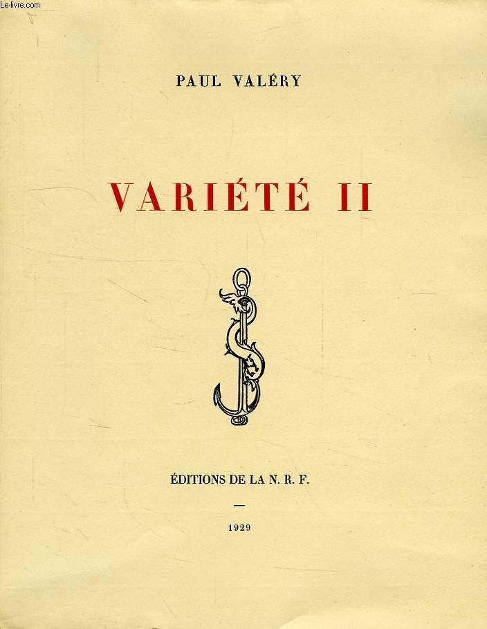 VARIETE II