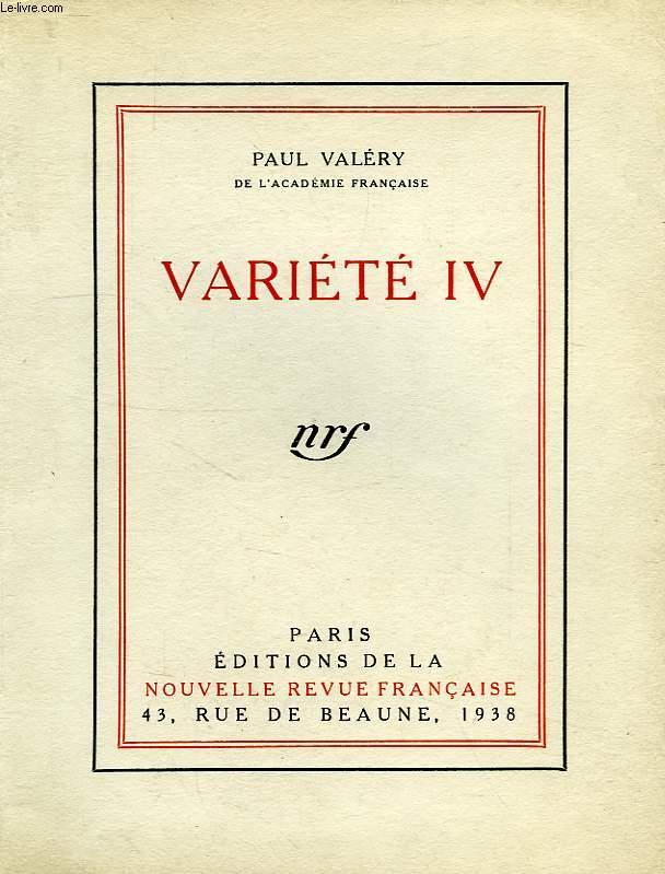 VARIETE IV