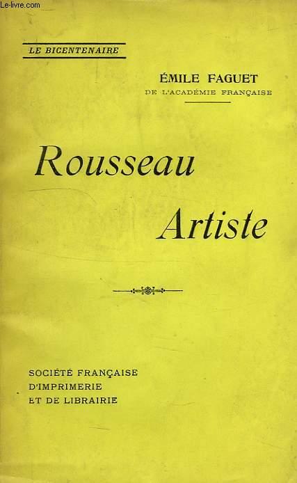 ROUSSEAU L'ARTISTE