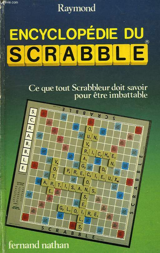 ENCYCLOPEDIE DU SCRABBLE