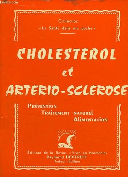 CHOLESTEROL ET ARTERIO-SCLEROSE