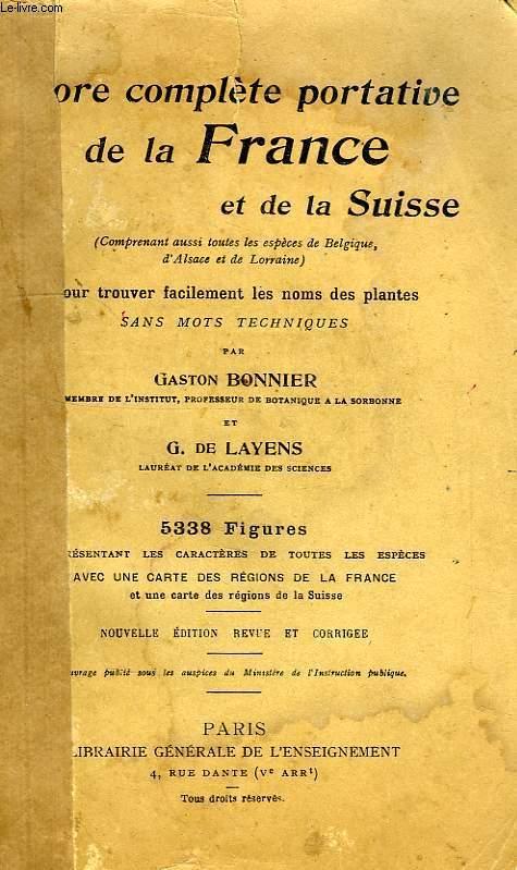 FLORE COMPLETE PORTATIVE DE LA FRANCE ET DE LA SUISSE