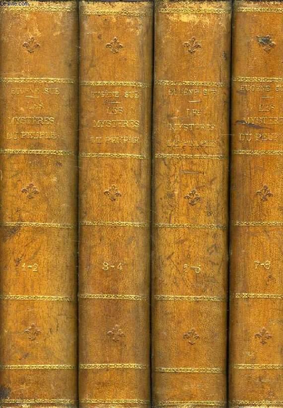LES MYSTERES DU PEUPLE A TRAVERS LES AGES, 4 VOLUMES: TOMES 1-2, 3-4, 5-6, 7-8