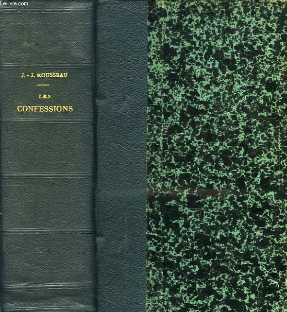 LES CONFESSIONS, 3 TOMES (UN VOLUME)