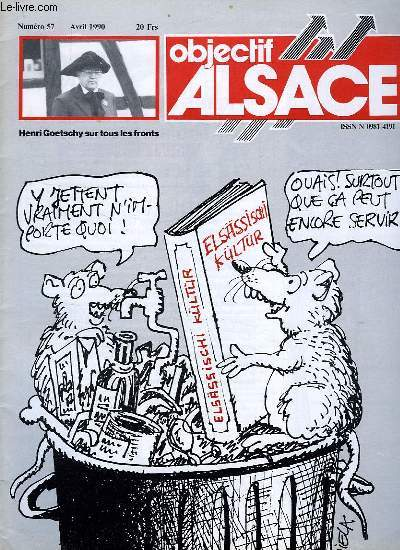 OBJECTIF ALSACE, N° 57, AVRIL 1990