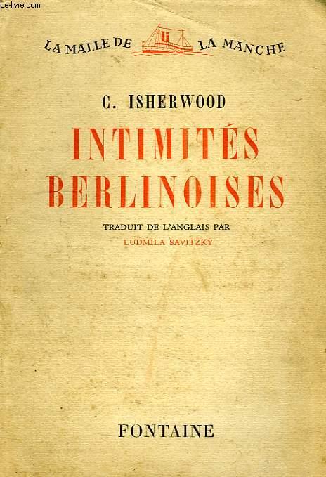 INTIMITES BERLISNOISES