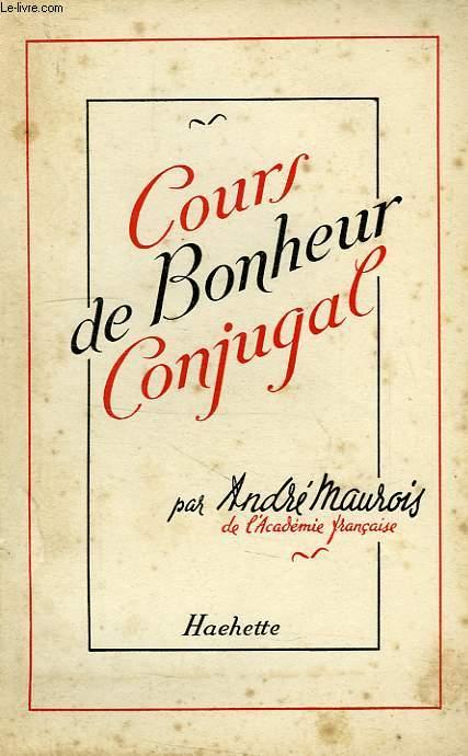 COURS DE BONHEUR CONJUGAL