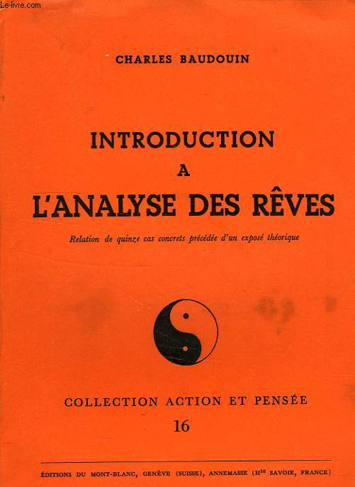 INTRODUCTION A L'ANALYSE DES REVES
