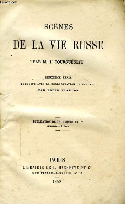 SCENES DE LA VIE RUSSE, 2e SERIE