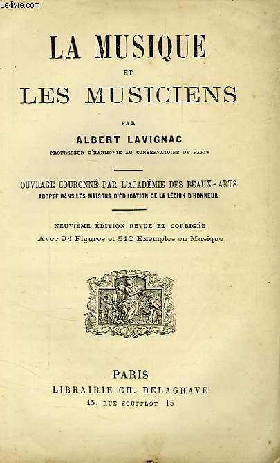 LA MUSIQUE ET LES MUSICIENS