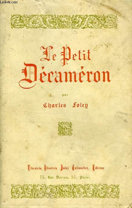 LE PETIT DECAMERON