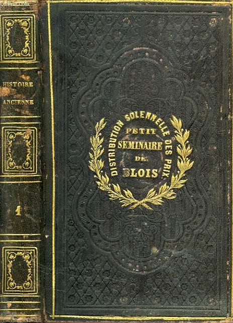 ABREGE DE L'HISTOIRE ANCIENNE, DE ROLLIN, TOME I