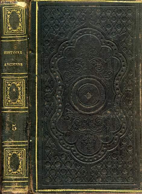 ABREGE DE L'HISTOIRE ANCIENNE, DE ROLLIN, TOME V