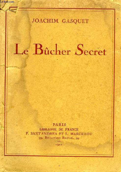LE BUCHER SECRET