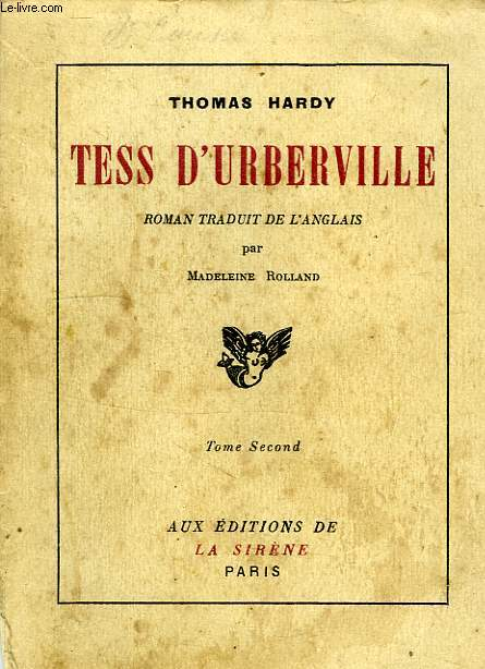 TESS D'UBERVILLE, TOME II