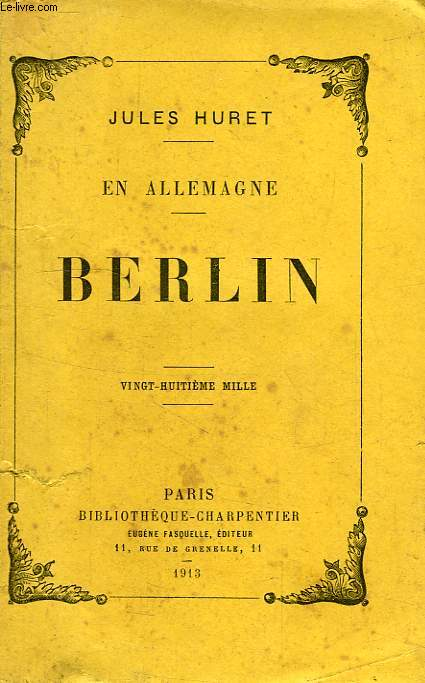 EN ALLEMAGNE, BERLIN