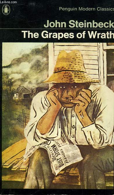 a book against corruption in the grapes of wrath by john steinbeck