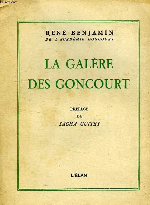 LA GALERE DES GONCOURT