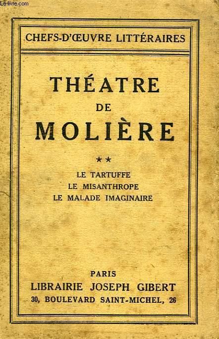 THEATRE DE MOLIERE, TOME II