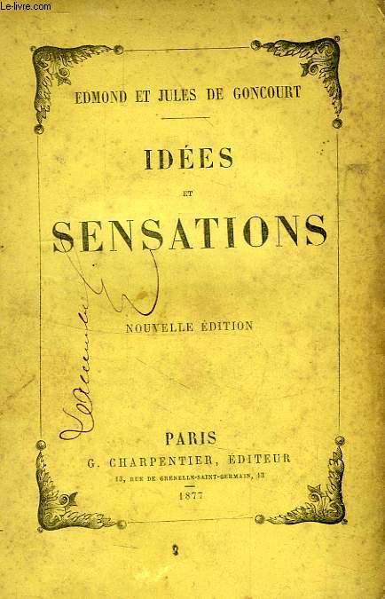 IDEES ET SENSATIONS
