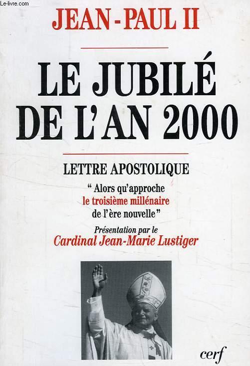 LE JUBILE DE L'AN 2000