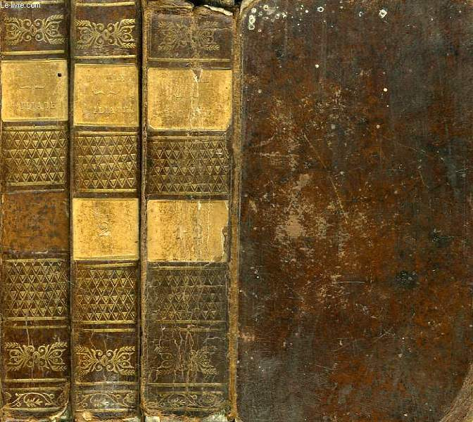 OEUVRES D'HOMERE, 3 VOLUMES: L'ILIADE, TOME I, TOME II / L'ODYSSEE, TOMES I & II