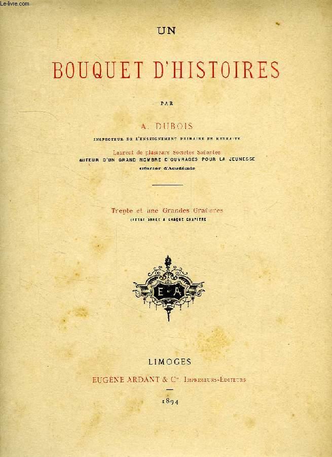 UN BOUQUET D'HISTOIRES