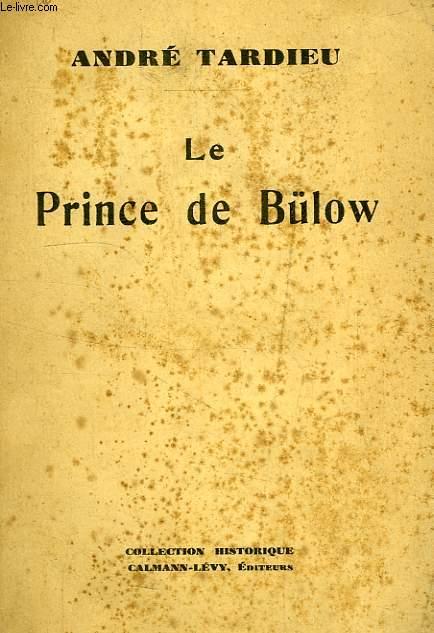 LE PRINCE DE BULOW