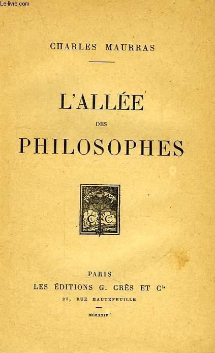 L'ALLEE DES PHILOSOPHES