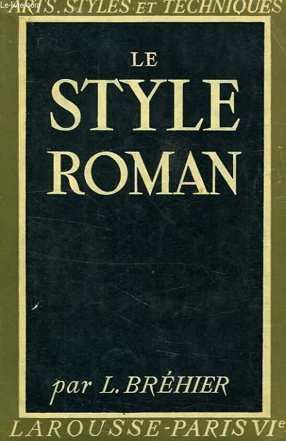 LE STYLE ROMAN