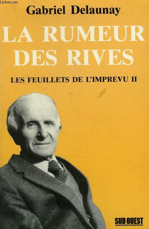 LA RUMEUR DES RIVES