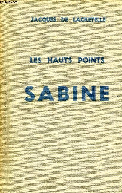 LES HAUTS PONTS, I, SABINE