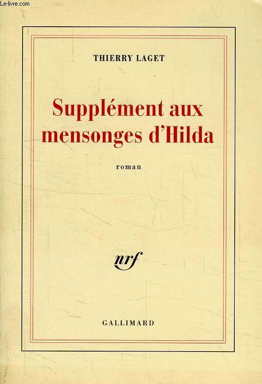 SUPPLEMENT AUX MENSONGES D'HILDA