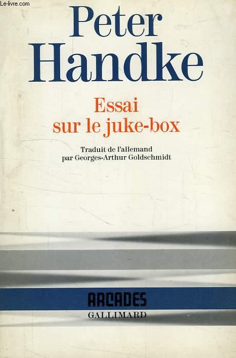 ESSAI SUR LE JUKE-BOX