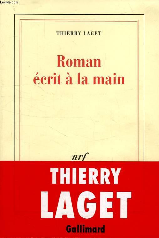 ROMAN ECRIT A LA MAIN