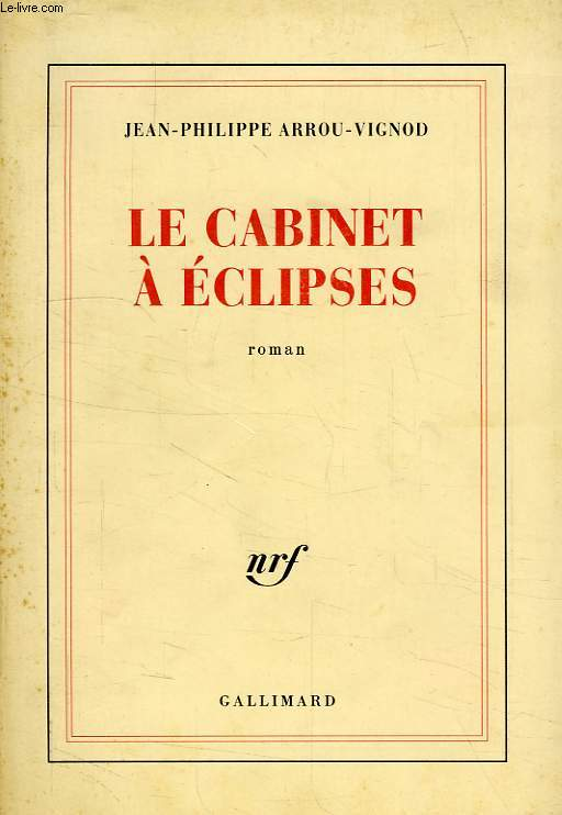 LE CABINET A ECLIPSES