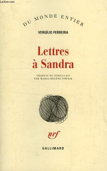 LETTRES A SANDRA